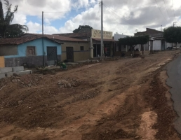 Ampliação da curva que liga a  cidade de Jaçanã