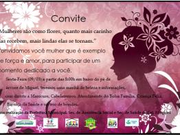 Evento Comemorativo ao dia 08 de Março Dia Internacional da Mulher