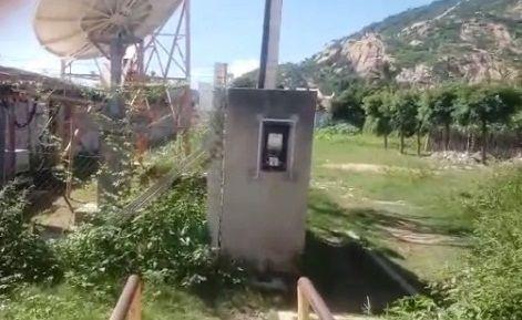 Vereadores denunciam risco de choque elétrico em estação da antena da TIM em Catingueira-PB; VEJA VÍDEO