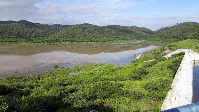 Barragem de Capoeira está com quase 17 milhões de metros cúbicos de água