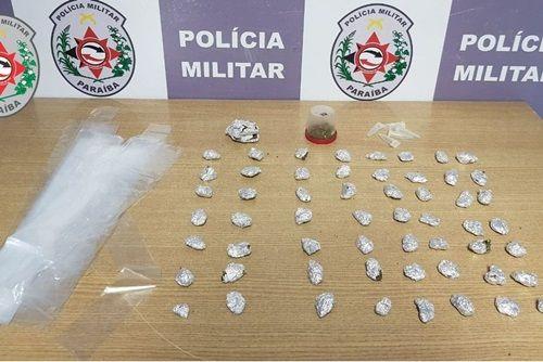 Suspeito de tráfico de droga é preso em frente a casa de show, na Paraíba