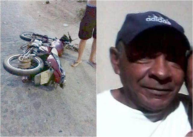 Acidente entre moto e caminhão deixa um homem morto em Itapetim PE