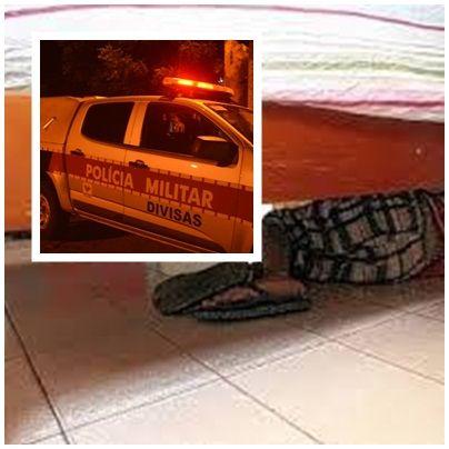 Homem agride mulher e se esconde embaixo da cama para escapar da polícia na Paraíba