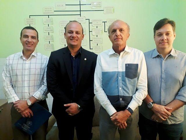 Na companhia do secretário de  Saúde, deputados visitam hospitais no Sertão nesta segunda-feira (20)