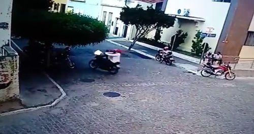 Veja vídeo mostra detalhes de assassinato do mototaxista em São Mamede!