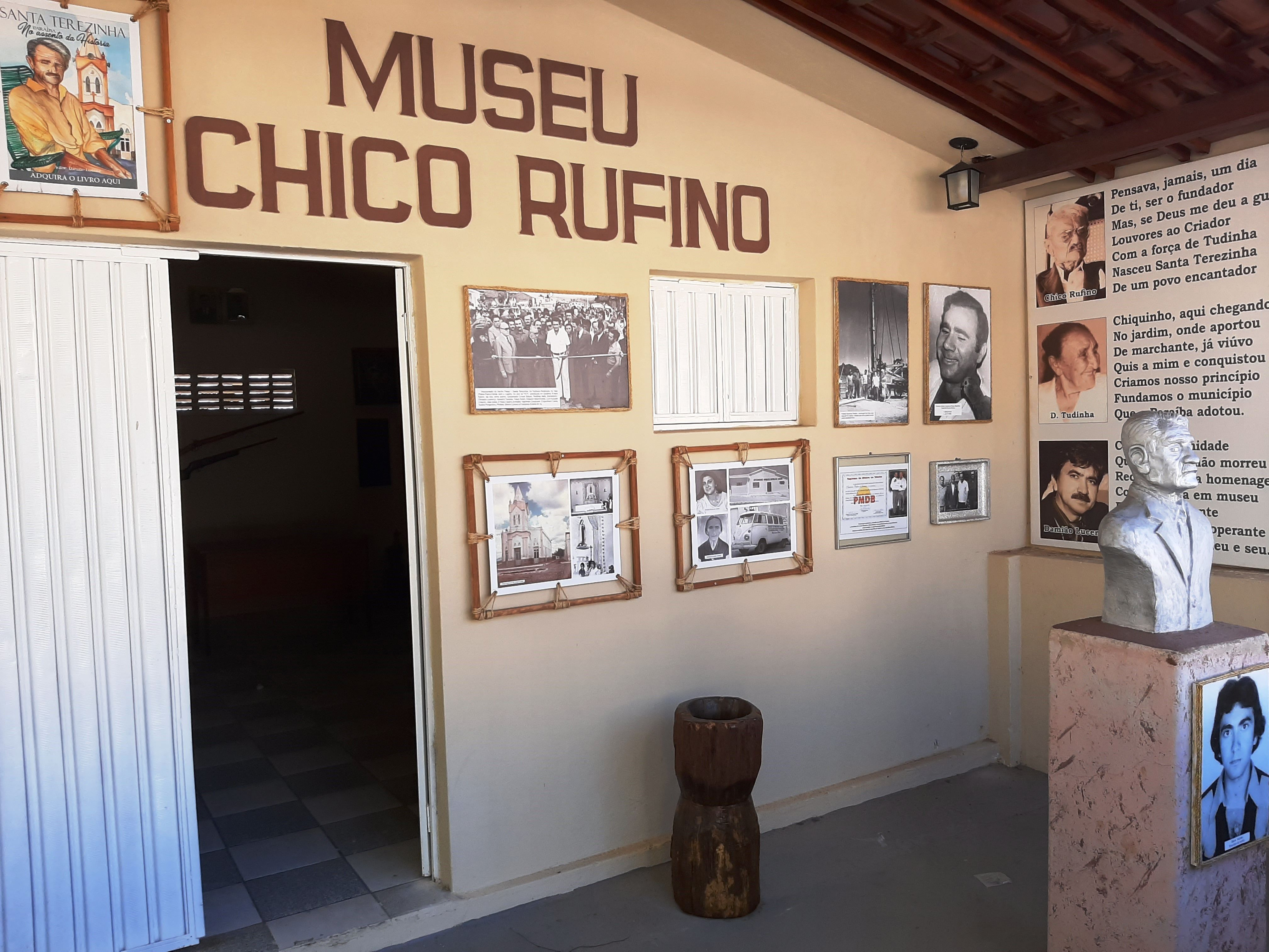 Prefeitura de Santa Terezinha faz parceria com historiador e Museu Chico Rufino
