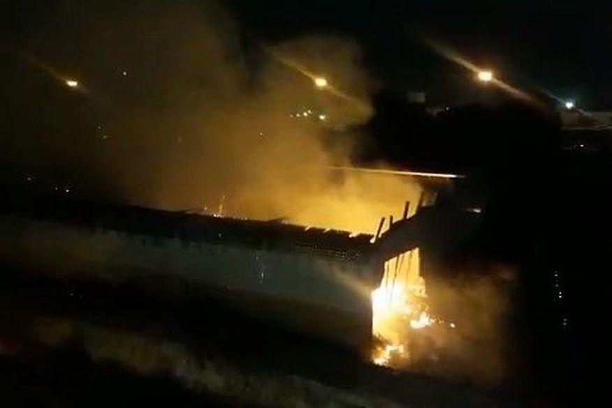 Incêndio atinge depósito da Justiça Federal, em João Pessoa