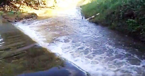 Após sangria do Açude do Tubarão, águas seguem direto para Açude do Jatobá. Veja