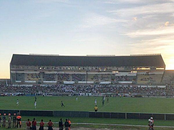 Nacional perde novamente para o Botafogo e está eliminado do Paraibano