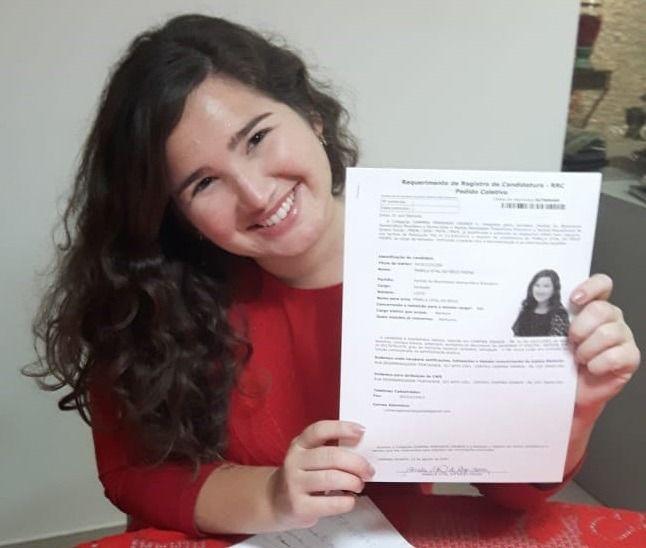 Pâmela Vital será a mais jovem vereadora com mandato na Câmara de CG