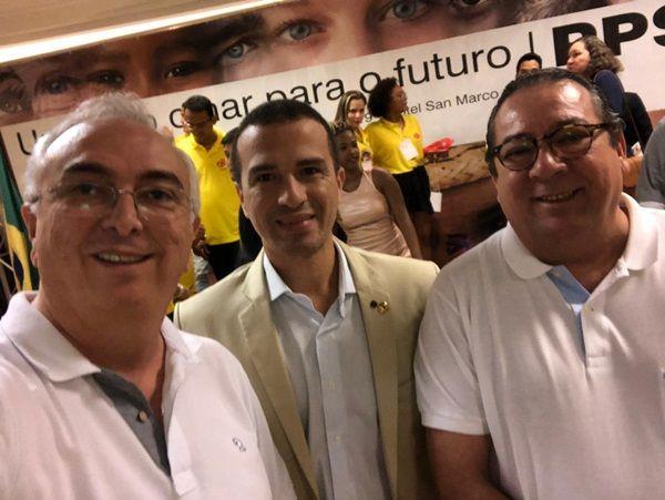 Em Brasília, Dr. Érico participa de congresso que altera o nome do PPS para Cidadania
