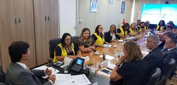 CONACS debate pauta dos ACS e ACE com ministro da Saúde