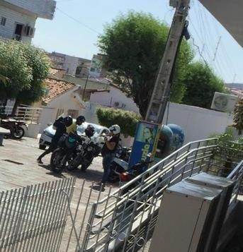 Assalto em plena luz do dia na cidade de Piancó chama atenção das autoridades e causa pânico na população