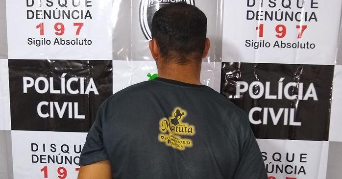 Polícia Civil de Santa Luzia prende estuprador na cidade de Junco do Seridó