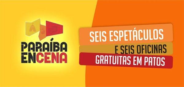 Projeto Paraíba EnCena inicia apresentações nesta quinta-feira em Patos