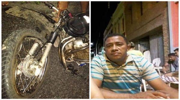 Empresário morre em acidente envolvendo moto e caminhão na cidade de Conceição