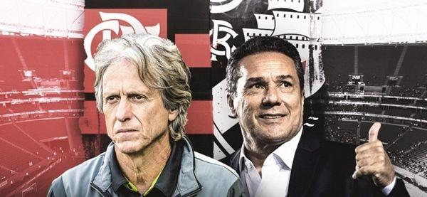 HOJE: Vasco x Flamengo coloca frente a frente os experientes Luxa e Jesus, que buscam legitimação