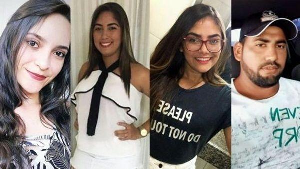 Paraibano e mais três jovens morrem após carro cair dentro de açude durante retorno de vaquejada no Ceará