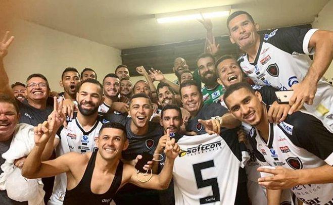 Botafogo-PB goleia Operário-MS e se classifica