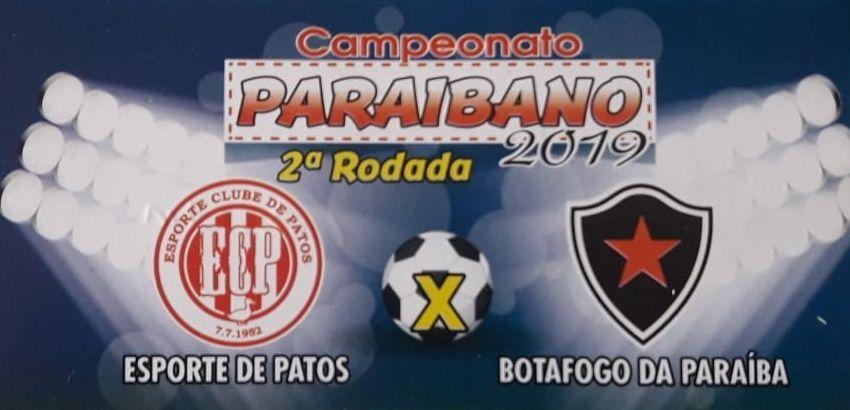 Esporte e Botafogo-PB terá lote de ingressos a preço promocional para compra antecipada