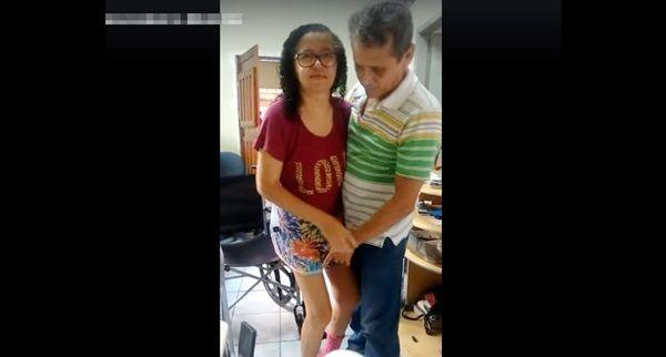 Natural de Santa Terezinha-PB, mas residindo em Campina Grande, homem pede ajuda para custear tratamento da esposa