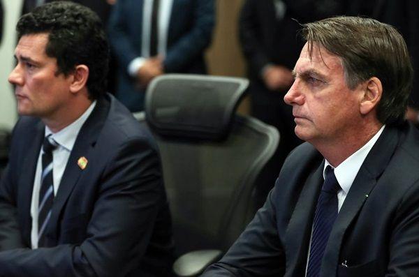 \'Nós confiamos irrestritamente no ministro Moro\', diz Bolsonaro