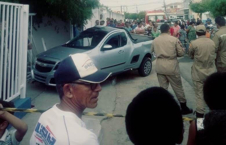 Condutor perde a vida depois de colidir em muro de unidade de saúde no Bairro do Morro, em Patos