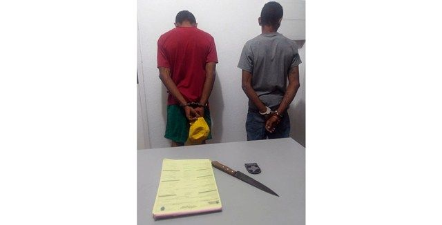 ROTAM compra comida para irmãos que alegaram invadir residência para roubar comida, em Patos