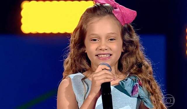 Sofia Cruz é a terceira paraibana classificada no The Voice Kids 2019