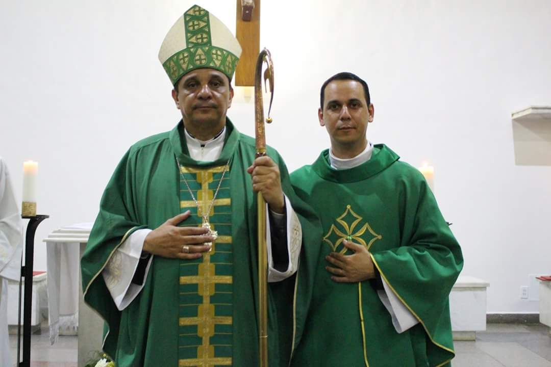 Dom Eraldo e Padre Edvan