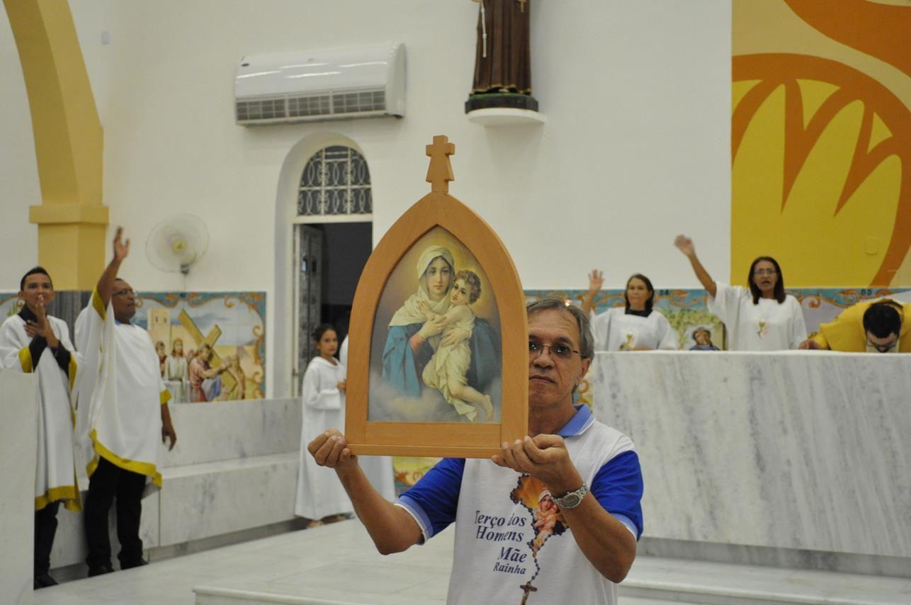 Missa em Ação de Graças pelo 14º Aniversário do Terço dos Homens da Comunidade de Santo Antônio