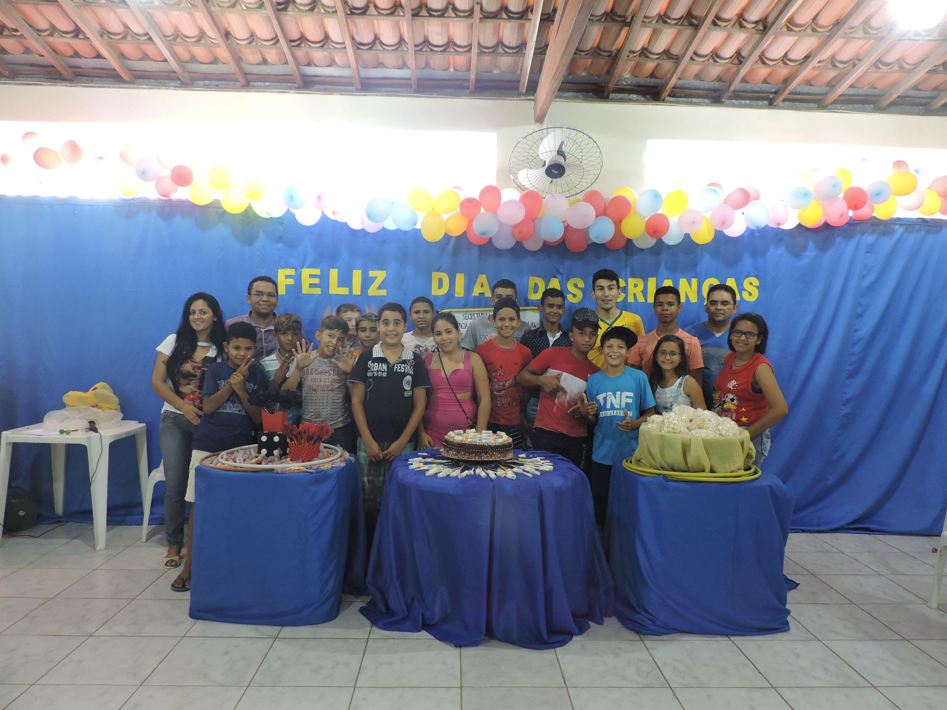Serviço de Convivência e Fortalecimento de Vínculos Comemora o Dia das Crianças