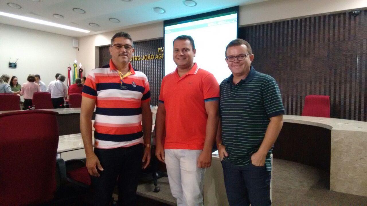 Gestor e Assessor Técnico do IPM (Instituto de Previdência Municipal) de Belém do Brejo do Cruz participam de Treinamento para orientações sobre processo eletrônico e benefício previdenciário no TCE/PB