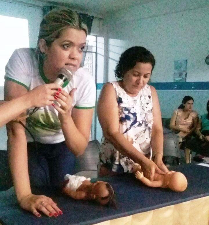 Professores das creches recebem capacitação sobre Primeiros Socorros Práticos na Educação Infantil