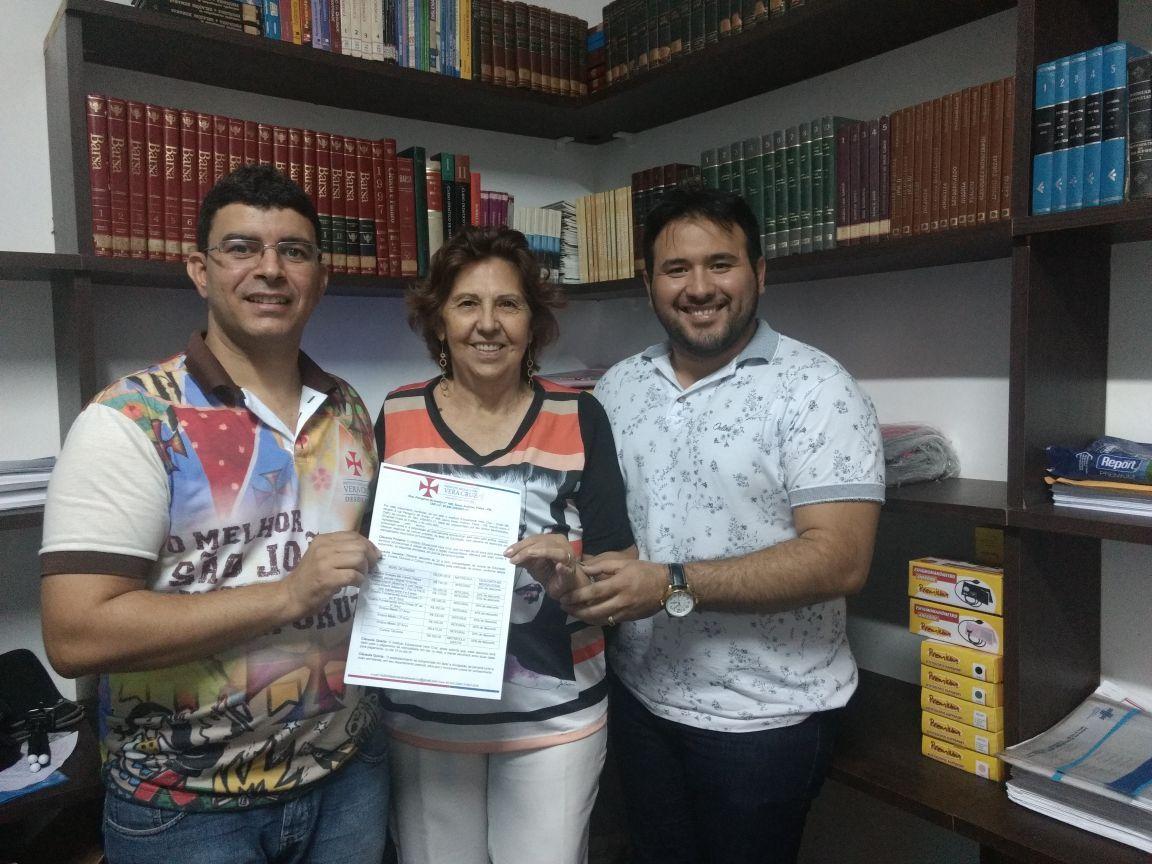 Vera Cruz chega a Catingueira e expande ensino de qualidade e parceira com a prefeitura