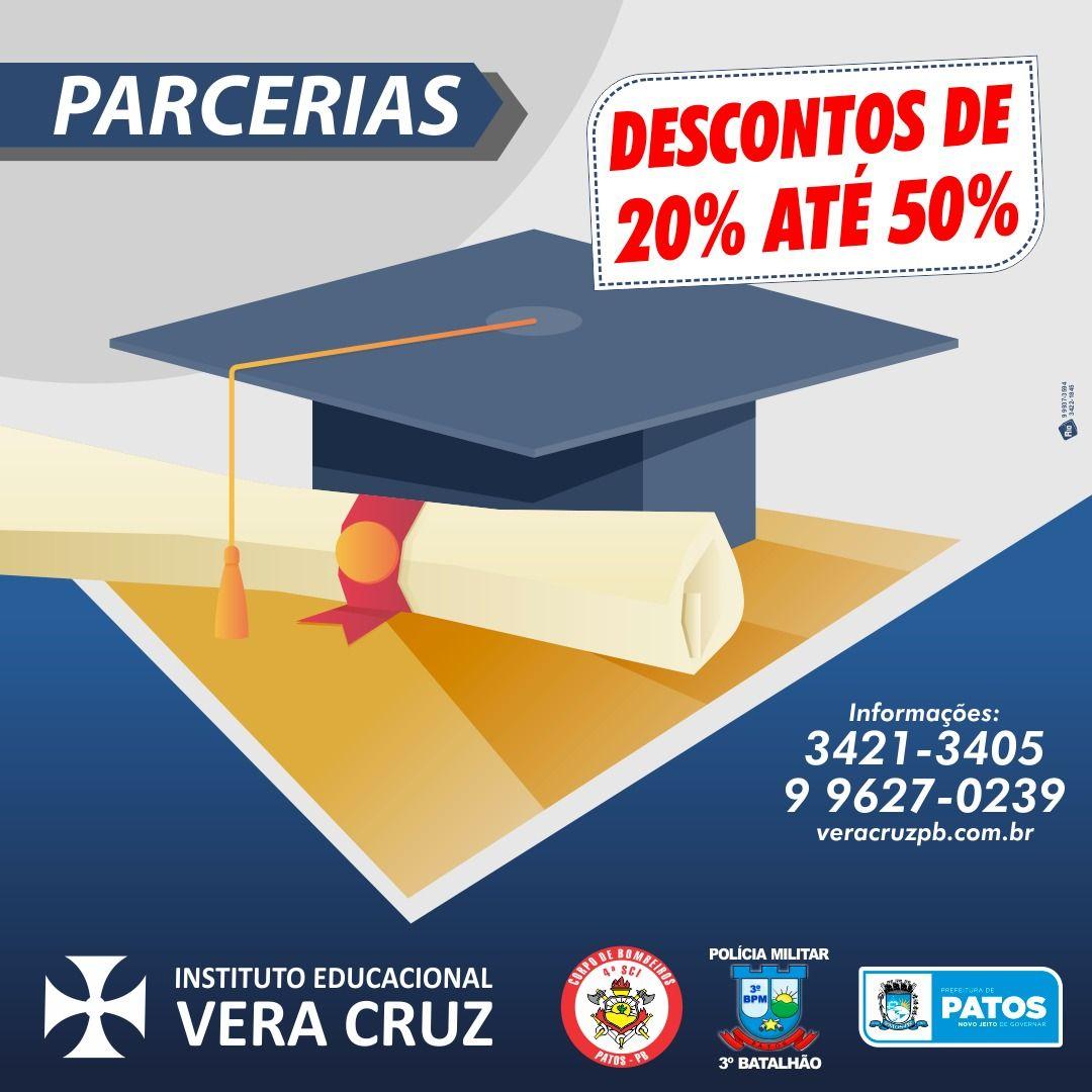 Mais uma Parceria: Instituto Vera Cruz também dará descontos a bombeiros do 4º BBM