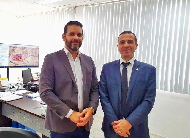 Em agenda com o Diretor da CINEP, Dr. Érico discute abertura de Centro de comercialização calçadista e expansão do Distrito Industrial de Patos
