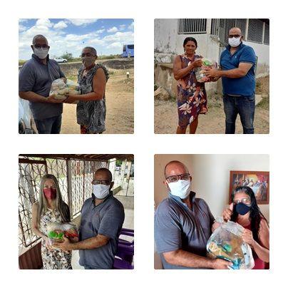 Campanha do Natal Solidário da Associação de Santa Gertrudes beneficiam 80 famílias carentes com cestas básicas; veja