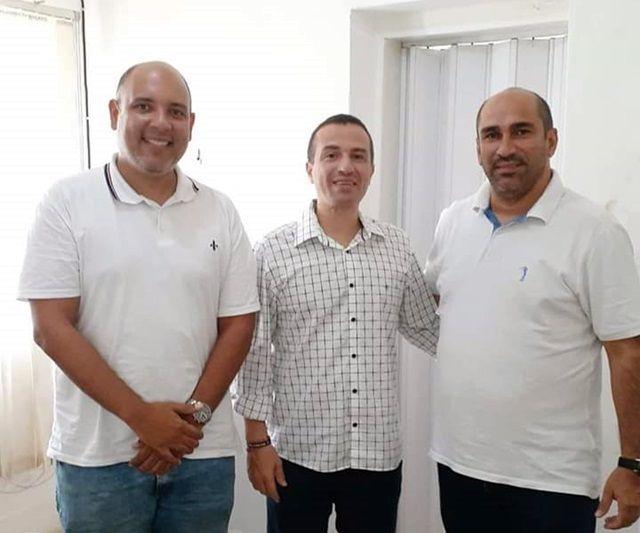 Encontro de Rafael Nunes e Jailson da EMATER gera especulação na politica de São José de Espinharas