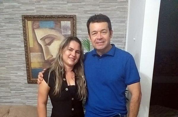 Pré-candidato a prefeito de Patos Ramonilson Alves visita pré-candidata a vereadora Ilmara Morais