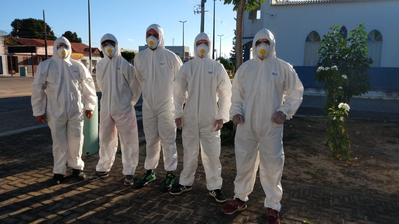 PREFEITURA INTENSIFICA HIGIENIZAÇÃO DA CIDADE NAS AÇÕES DE COMBATE AO CORONAVÍRUS